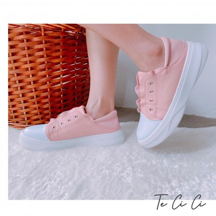 Coral Laceless Sneakers
