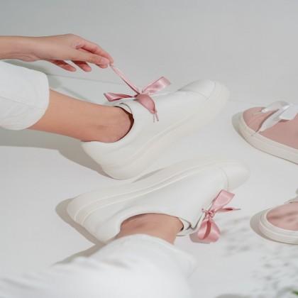Silk Ribbon Sneakers
